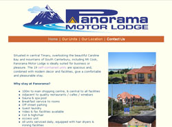 Panorama Motor Lodge - Timaru - New Zealand